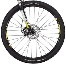 Large Wheels of DB Overdrive 29er