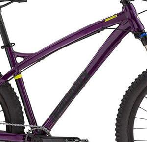 Alloy Frame Of DB Bikes Sync'r