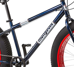 Frame of Dolomite fat tire bike