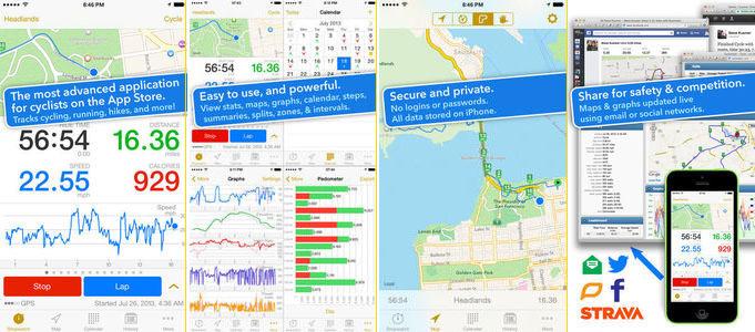 Cyclemeter Biking App