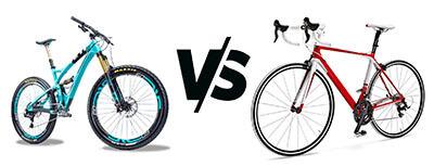 MTB vs. Road