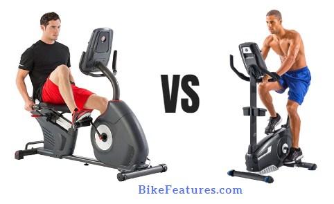 Recumbent vs Upright Bike Benefits & Difference