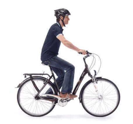 Upright Biking Posture